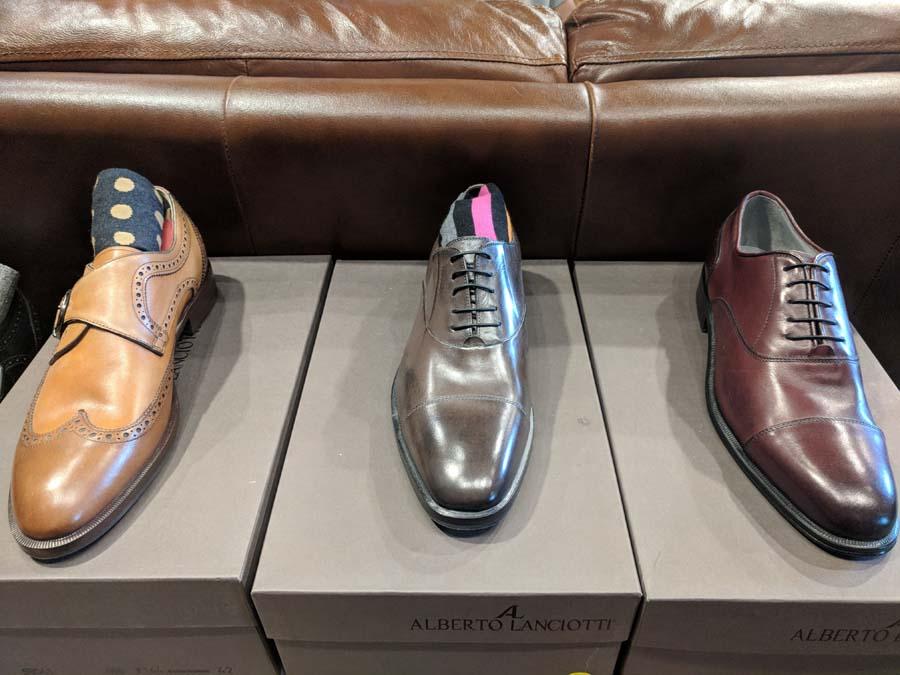 dress shoes at testa uomo toronto