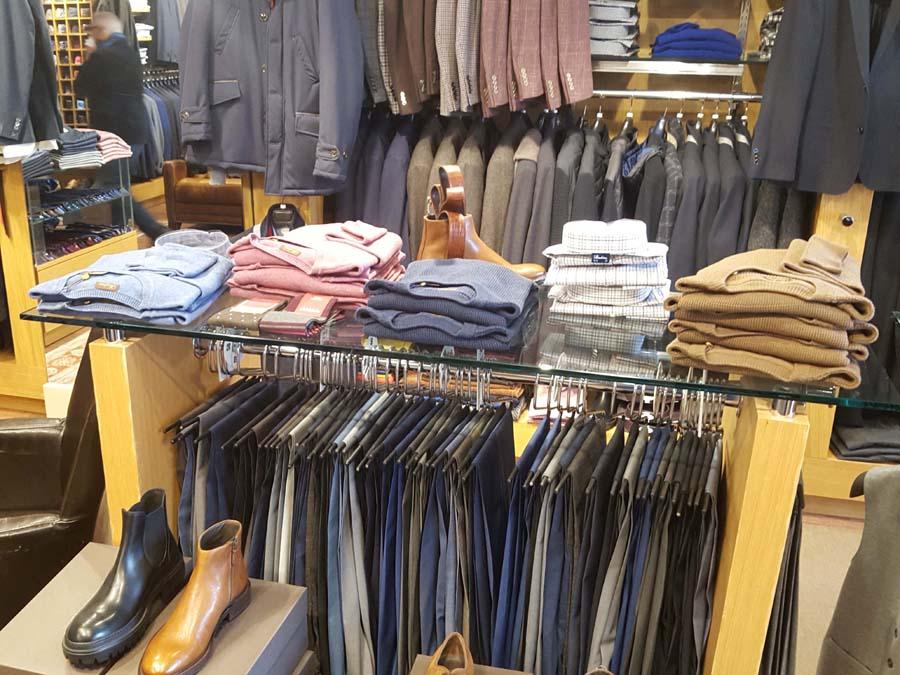 business casual slacks and shirts testa uomo